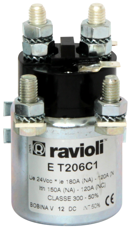 D C  Contactors for electrical traction TECNO Series