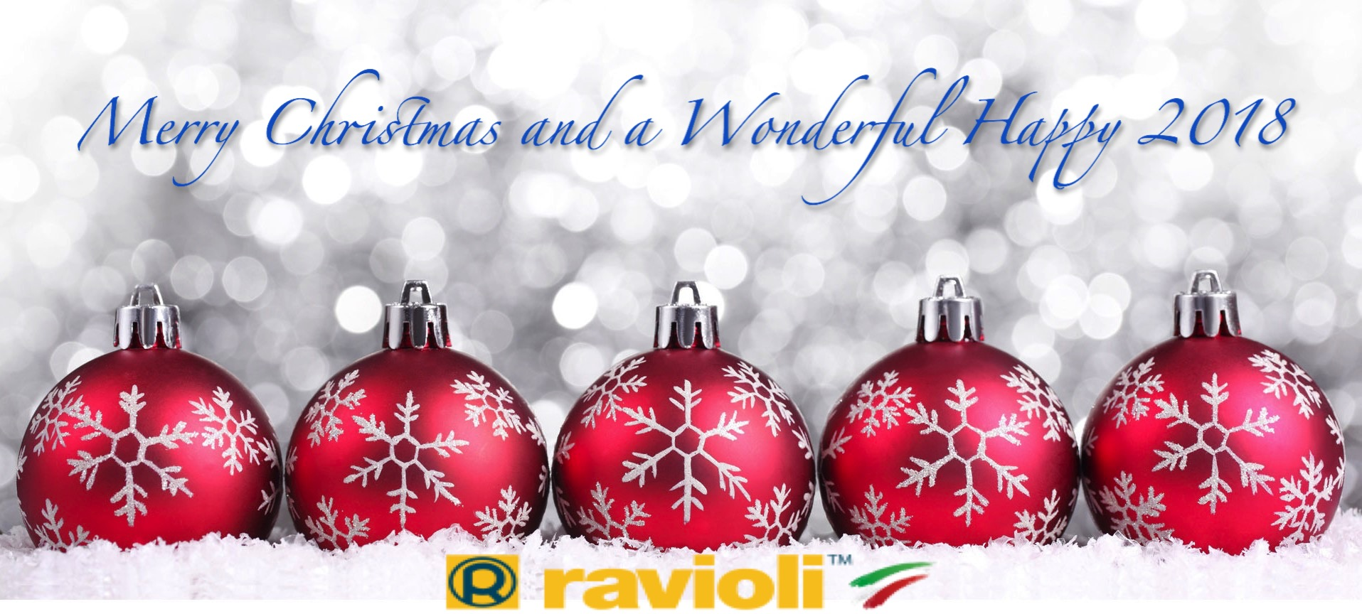 Merry christmas from ravioli spa ravioli spa we thank you for your kind attention and wish you once more our best seasons greetings for a merry christmas and a wonderful happy new year m4hsunfo